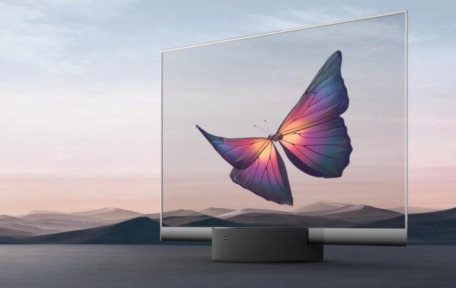 televisor transparente de Xiaomi